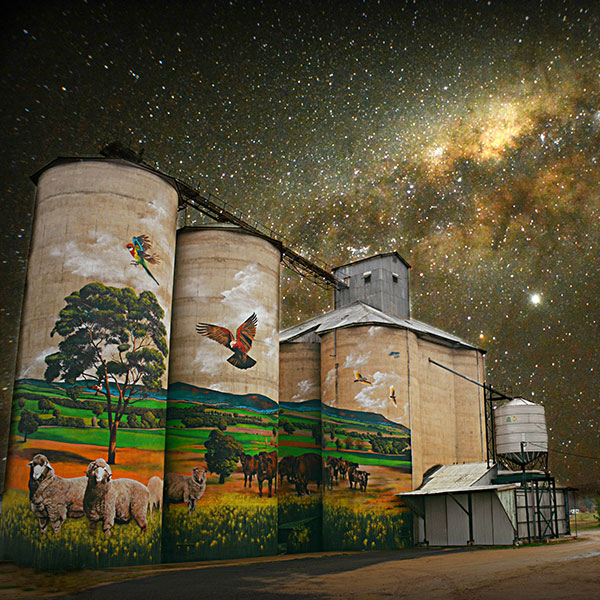 Central West Silos © Christine Smith Photography