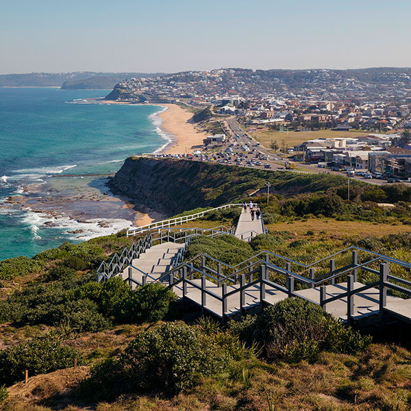 Newcastle Memorial Walk © Destination NSW